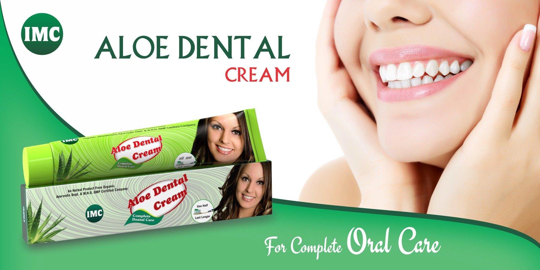 IMC Aloe Dental Cream