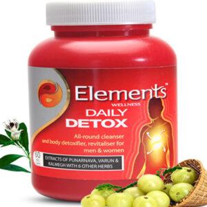 Elements WELLNESS DAILY DETOX 60 VEG CAPS