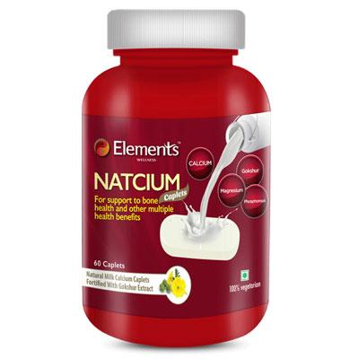 Elements WELLNESS NATCIUM (60 Caplets)