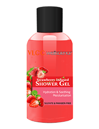 Strawberry Infused Shower Gel